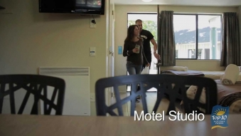 Embedded thumbnail for Top 10 Holiday Parks - Room 1 - Motel Studio