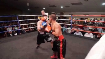 "Embedded thumbnail for Nort ""the Assassin from Siam"" Beauchamp vs Ben Sisam - Knockdown!"