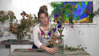 Embedded thumbnail for Everything Flowers - Episode four – Three Vases Arrangement